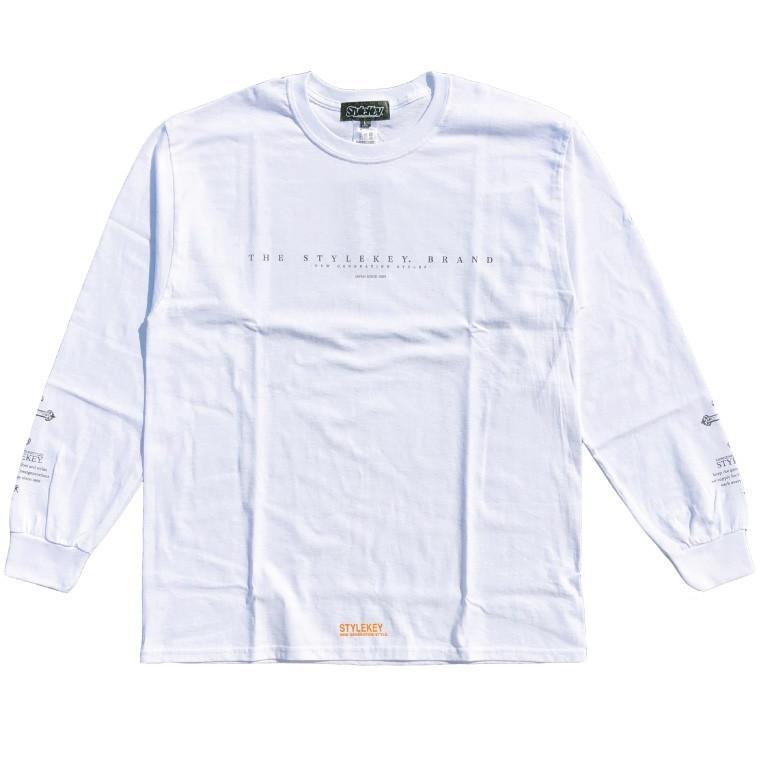 STYLEKEY(スタイルキー) 長袖Tシャツ FALLEN ANGEL L/S TEE(SK19HO-LS06) ロングスリーブTシャツ ストリート系 B系 大きいサイズ|b-bros|03