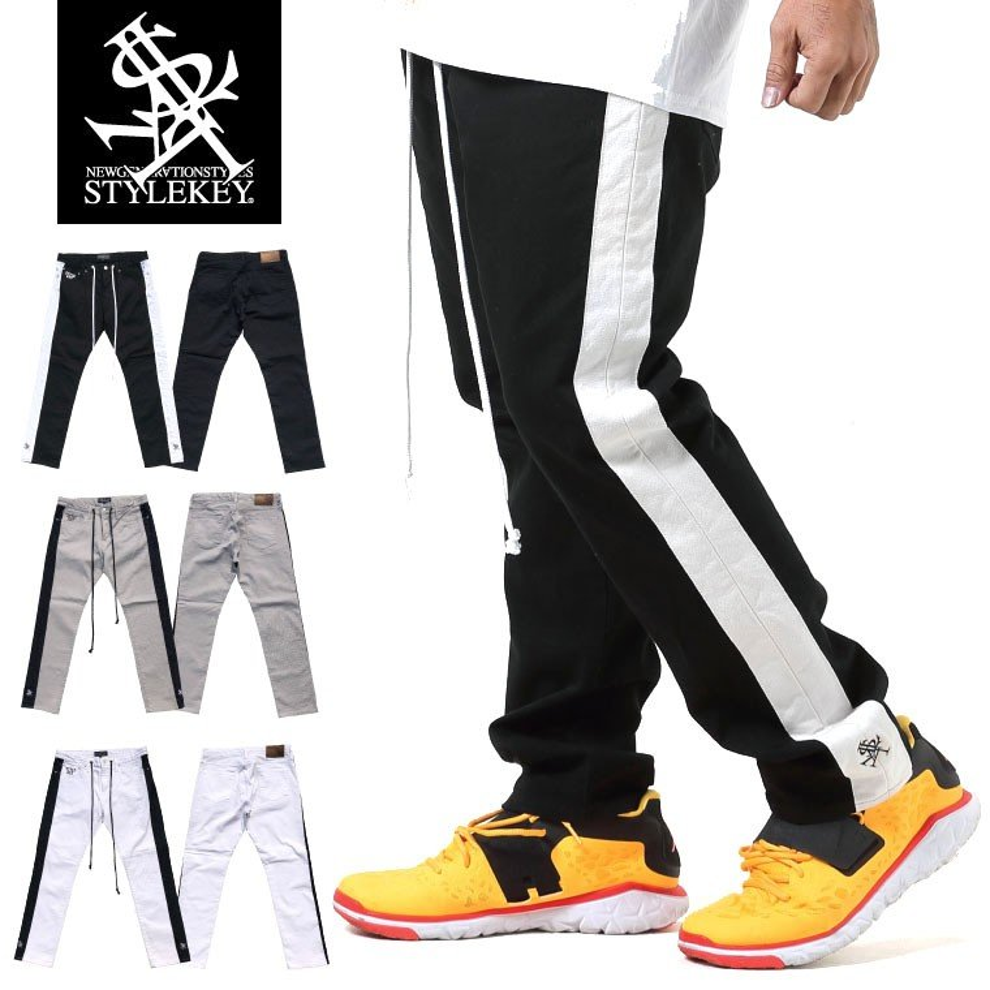 STYLEKEY スタイルキー スキニーパンツ GENERATION LINE SKINNY PANTS(SK19FW-PT01) ストリート系 B系 大きいサイズ b-bros