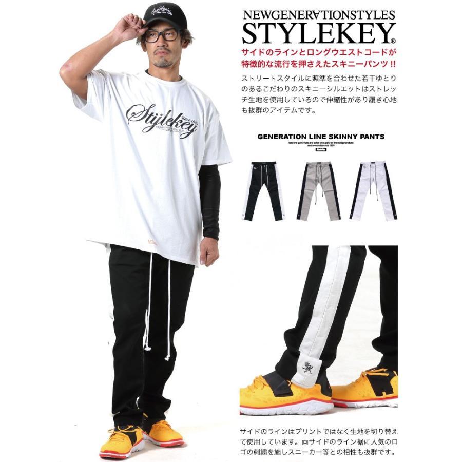 STYLEKEY スタイルキー スキニーパンツ GENERATION LINE SKINNY PANTS(SK19FW-PT01) ストリート系 B系 大きいサイズ b-bros 02