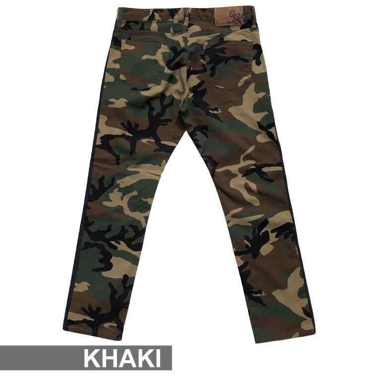 STYLEKEY スタイルキー 迷彩スキニーパンツ CAMOUFLAGE LINE SKINNY PANTS(SK20FW-PT01) ストリートファッション カモ サイドライン B系 大きいサイズ|b-bros|04