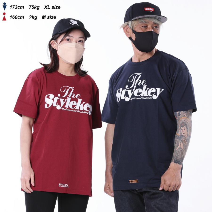 STYLEKEY(スタイルキー) 半袖Tシャツ SWEET LOGO S/S TEE(SK21SP-SS01) ストリートファッション ヒップホップ レゲエ ダンス B系 定番ロゴ 大きいサイズ b-bros 02