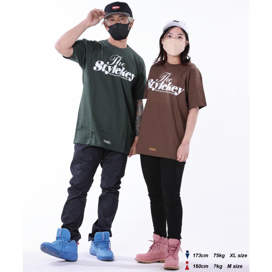 STYLEKEY(スタイルキー) 半袖Tシャツ SWEET LOGO S/S TEE(SK21SP-SS01) ストリートファッション ヒップホップ レゲエ ダンス B系 定番ロゴ 大きいサイズ b-bros 03