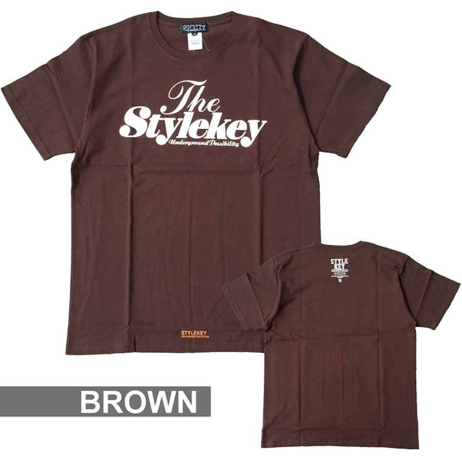 STYLEKEY(スタイルキー) 半袖Tシャツ SWEET LOGO S/S TEE(SK21SP-SS01) ストリートファッション ヒップホップ レゲエ ダンス B系 定番ロゴ 大きいサイズ b-bros 08