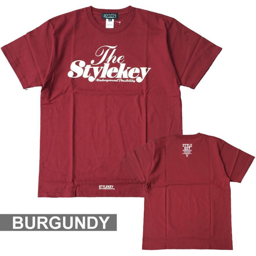 STYLEKEY(スタイルキー) 半袖Tシャツ SWEET LOGO S/S TEE(SK21SP-SS01) ストリートファッション ヒップホップ レゲエ ダンス B系 定番ロゴ 大きいサイズ b-bros 10