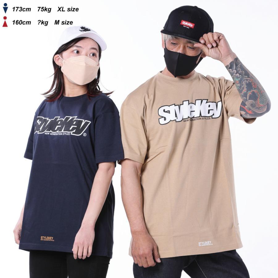 STYLEKEY(スタイルキー) 半袖Tシャツ SMART LOGO S/S TEE(SK21SP-SS02) ストリートファッション ヒップホップ レゲエ ダンス B系 定番ロゴ 大きいサイズ|b-bros|02