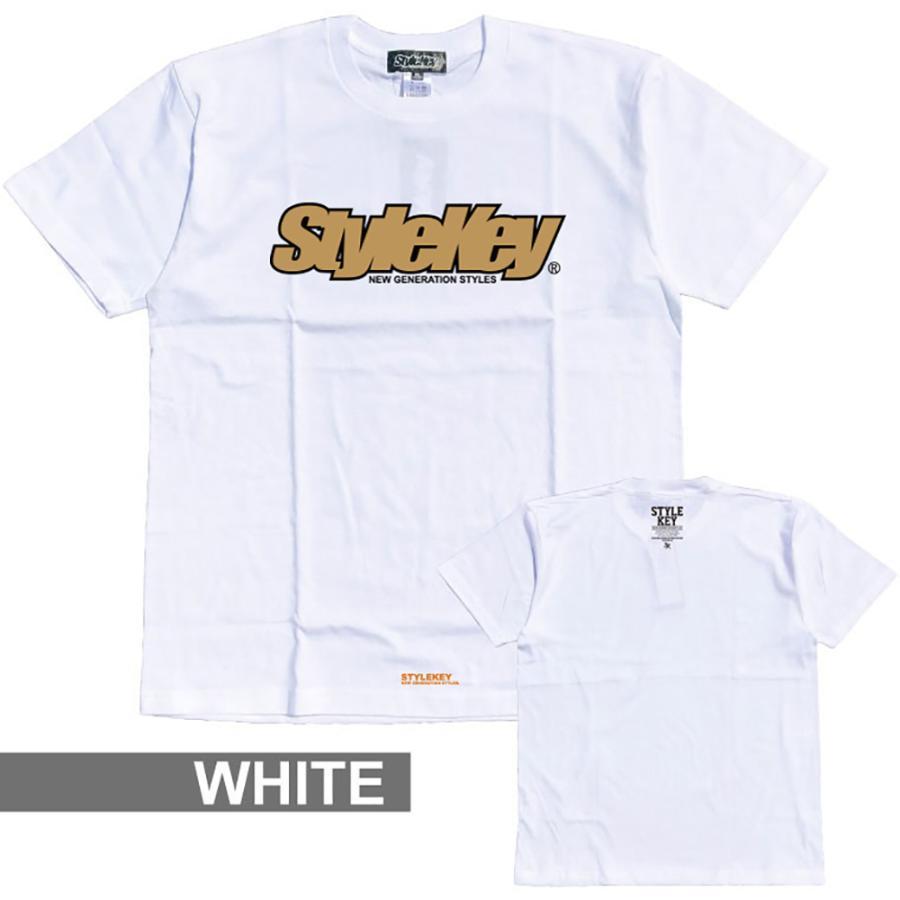 STYLEKEY(スタイルキー) 半袖Tシャツ SMART LOGO S/S TEE(SK21SP-SS02) ストリートファッション ヒップホップ レゲエ ダンス B系 定番ロゴ 大きいサイズ|b-bros|06