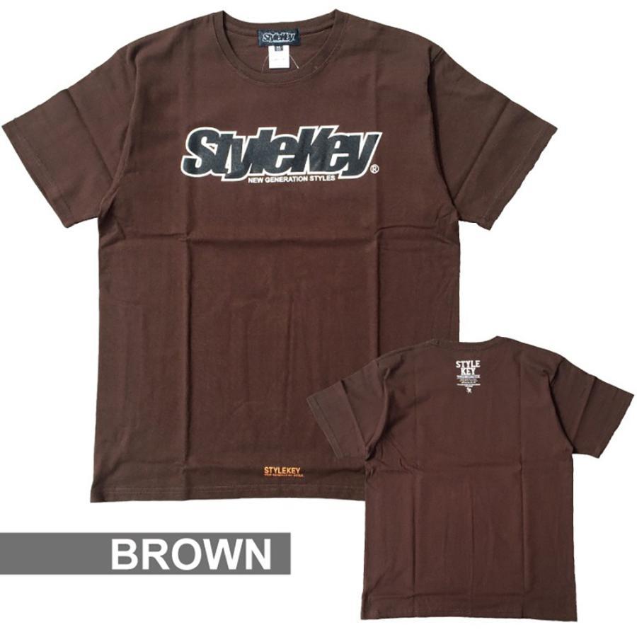 STYLEKEY(スタイルキー) 半袖Tシャツ SMART LOGO S/S TEE(SK21SP-SS02) ストリートファッション ヒップホップ レゲエ ダンス B系 定番ロゴ 大きいサイズ|b-bros|08