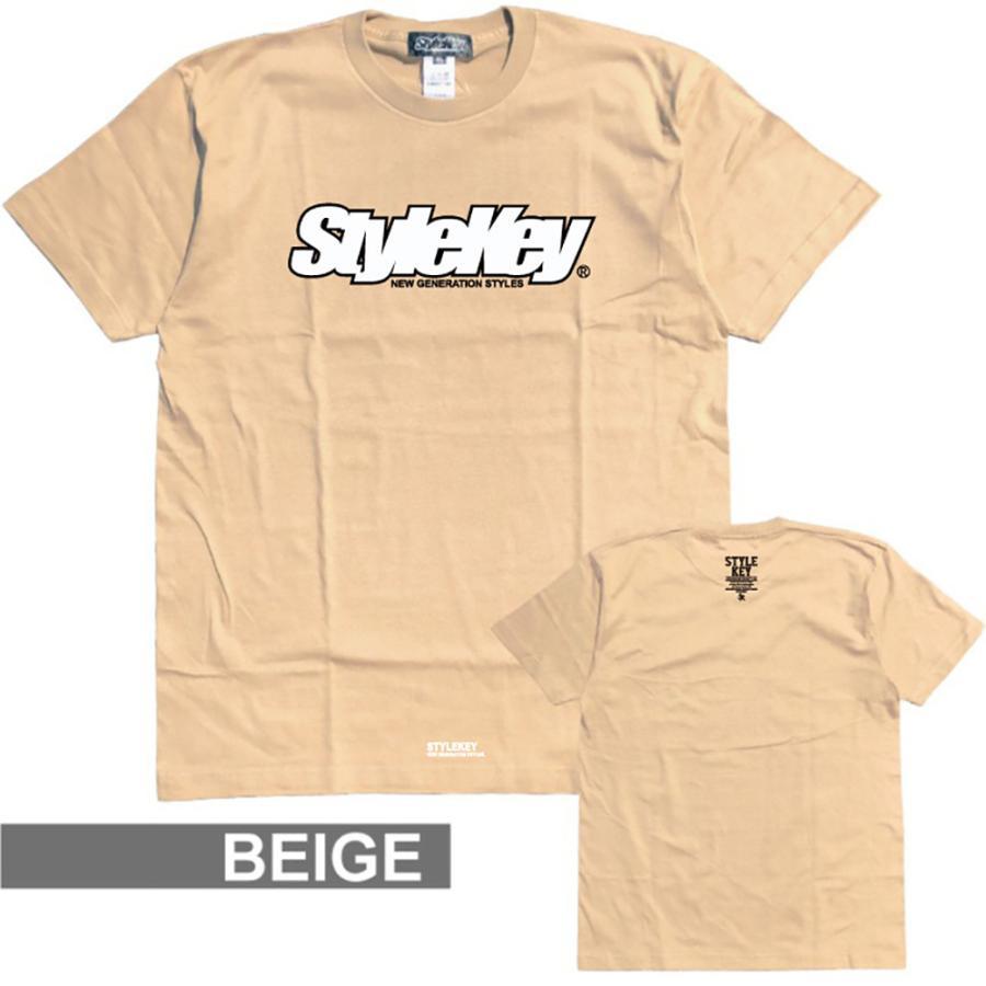 STYLEKEY(スタイルキー) 半袖Tシャツ SMART LOGO S/S TEE(SK21SP-SS02) ストリートファッション ヒップホップ レゲエ ダンス B系 定番ロゴ 大きいサイズ|b-bros|09