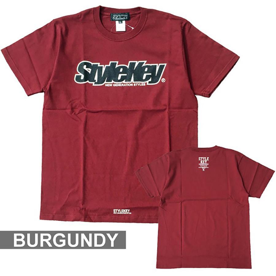 STYLEKEY(スタイルキー) 半袖Tシャツ SMART LOGO S/S TEE(SK21SP-SS02) ストリートファッション ヒップホップ レゲエ ダンス B系 定番ロゴ 大きいサイズ|b-bros|10