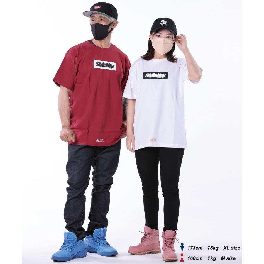 STYLEKEY(スタイルキー) 半袖Tシャツ BOX LOGO S/S TEE(SK21SP-SS03) ストリートファッション ヒップホップ レゲエ ダンス スケート B系 定番ロゴ 大きいサイズ|b-bros|02