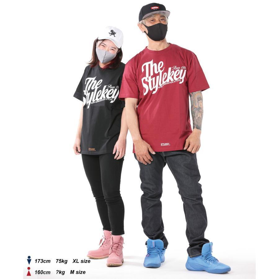 STYLEKEY(スタイルキー) 半袖Tシャツ WING LOGO S/S TEE(SK21SP-SS04) ストリートファッション ヒップホップ レゲエ ダンス スケート B系 定番ロゴ 大きいサイズ|b-bros|02