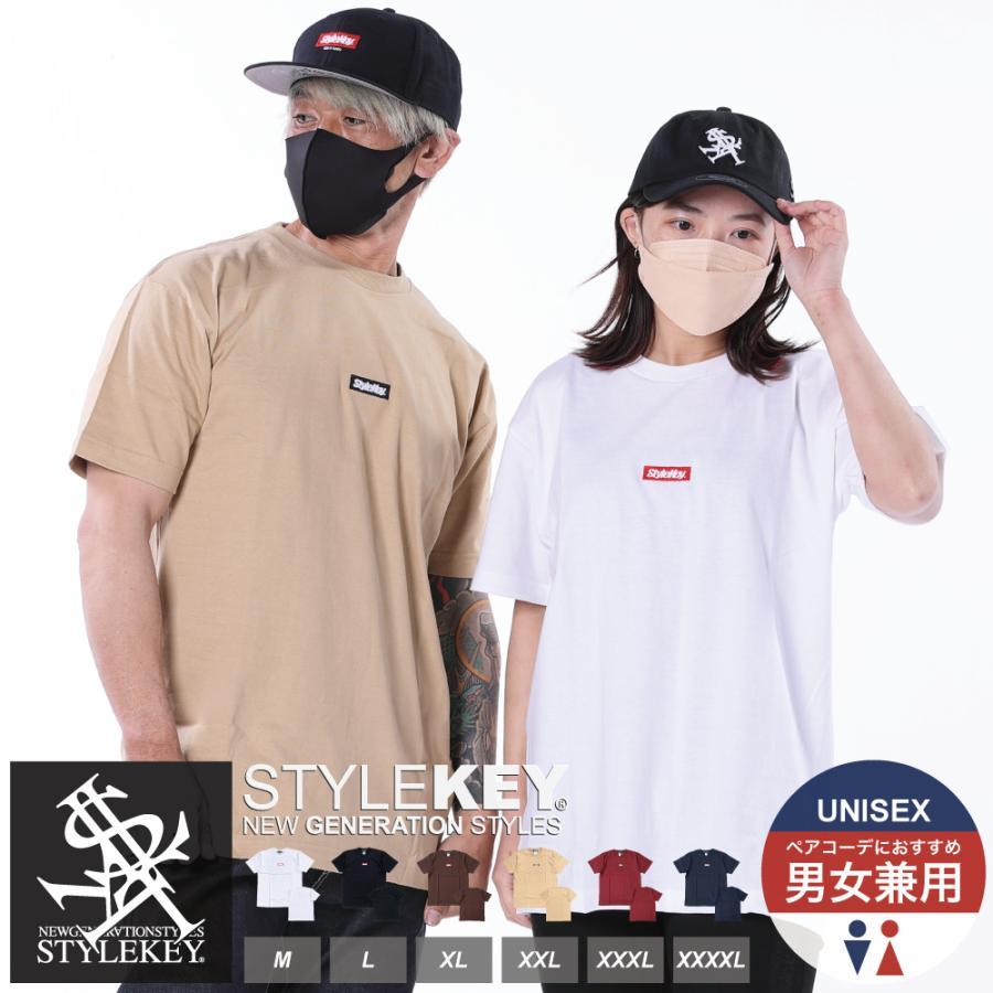 STYLEKEY(スタイルキー) 半袖Tシャツ SMART BOX S/S TEE(SK21SU-SS01) ストリートファッション ヒップホップ レゲエ ダンス スケート B系 定番ロゴ 大きいサイズ b-bros