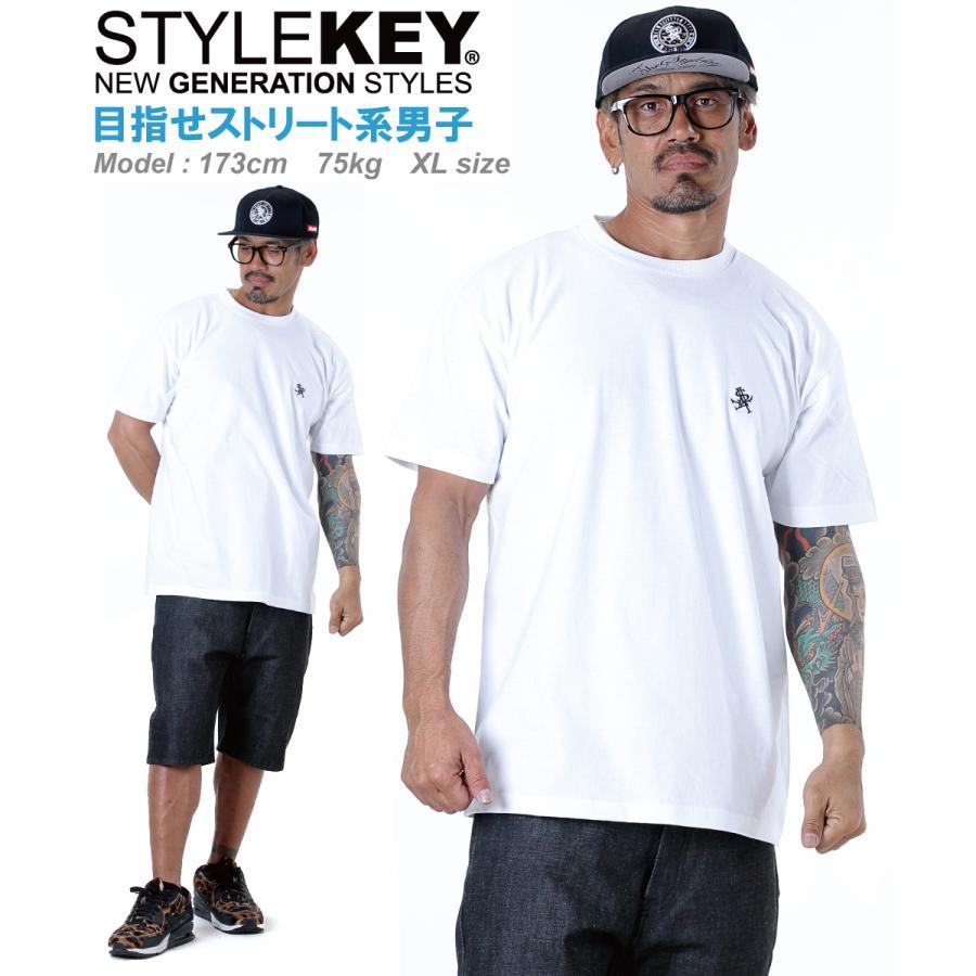 STYLEKEY(スタイルキー) 半袖Tシャツ ROYAL POINT S/S TEE(SK21SU-SS02) ストリートファッション ヒップホップ レゲエ ダンス B系 定番ロゴ 大きいサイズ b-bros 04