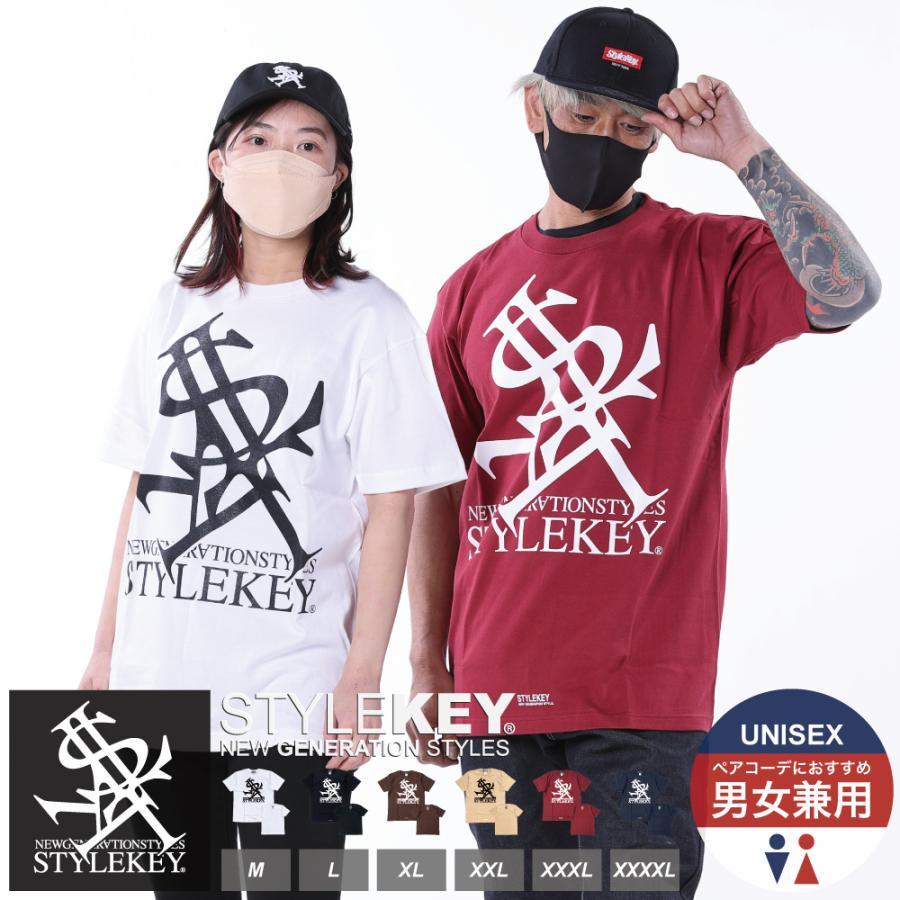 STYLEKEY(スタイルキー) 半袖Tシャツ ROYAL LOGO S/S TEE(SK21SU-SS03) ストリートファッション ヒップホップ レゲエ ダンス B系 定番ロゴ 大きいサイズ b-bros