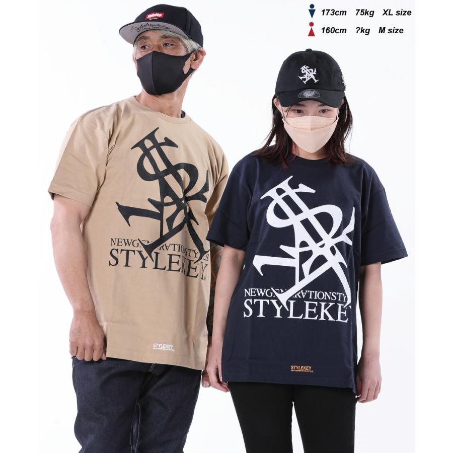 STYLEKEY(スタイルキー) 半袖Tシャツ ROYAL LOGO S/S TEE(SK21SU-SS03) ストリートファッション ヒップホップ レゲエ ダンス B系 定番ロゴ 大きいサイズ b-bros 03