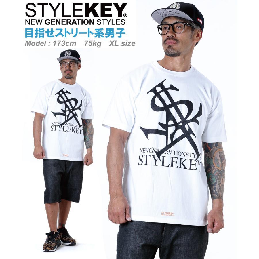 STYLEKEY(スタイルキー) 半袖Tシャツ ROYAL LOGO S/S TEE(SK21SU-SS03) ストリートファッション ヒップホップ レゲエ ダンス B系 定番ロゴ 大きいサイズ b-bros 04
