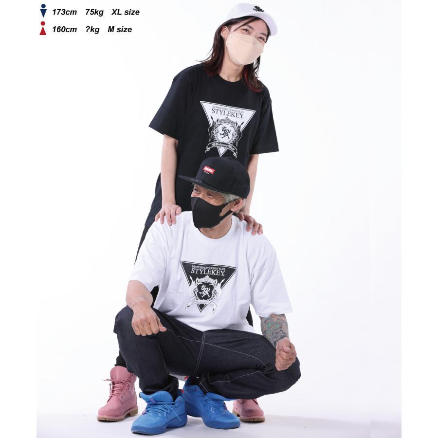 STYLEKEY(スタイルキー) 半袖Tシャツ TRIANGLE LOGO S/S TEE(SK21SU-SS04) ストリートファッション ヒップホップ レゲエ ダンス B系 定番ロゴ 大きいサイズ b-bros 02