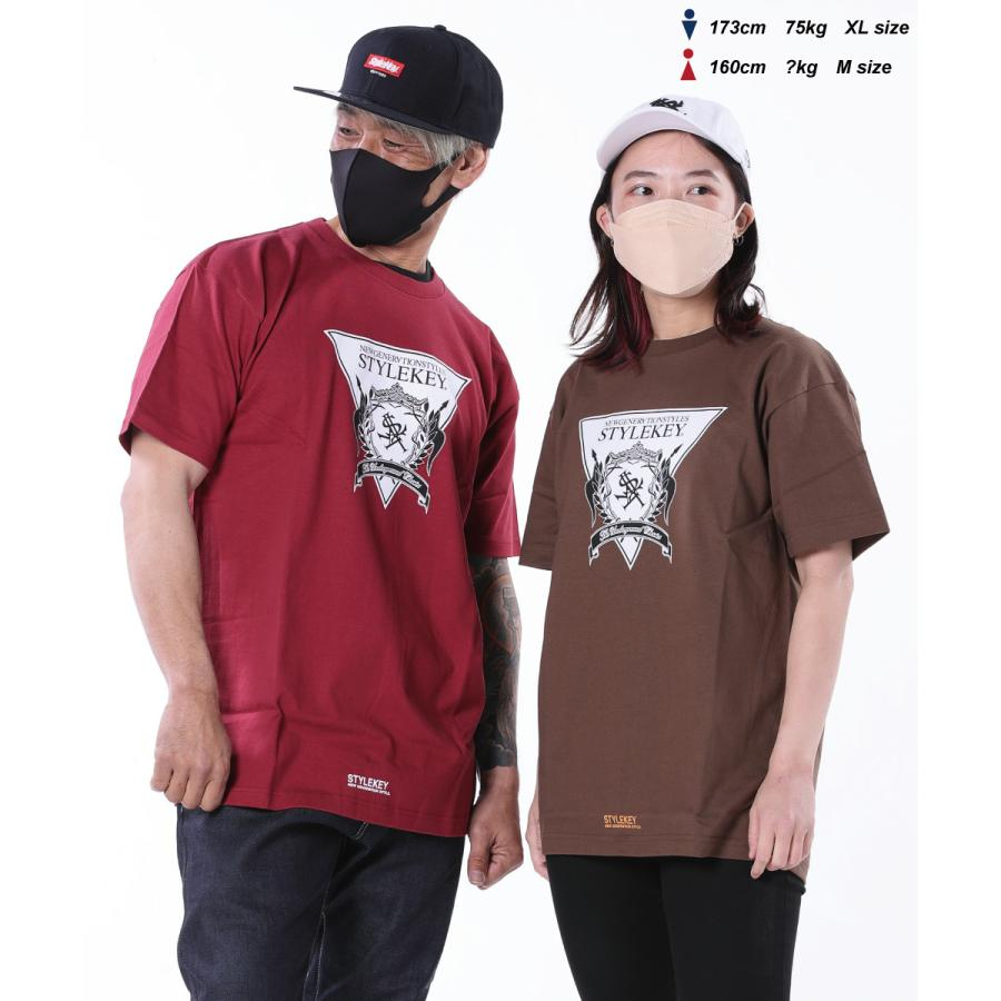 STYLEKEY(スタイルキー) 半袖Tシャツ TRIANGLE LOGO S/S TEE(SK21SU-SS04) ストリートファッション ヒップホップ レゲエ ダンス B系 定番ロゴ 大きいサイズ b-bros 03