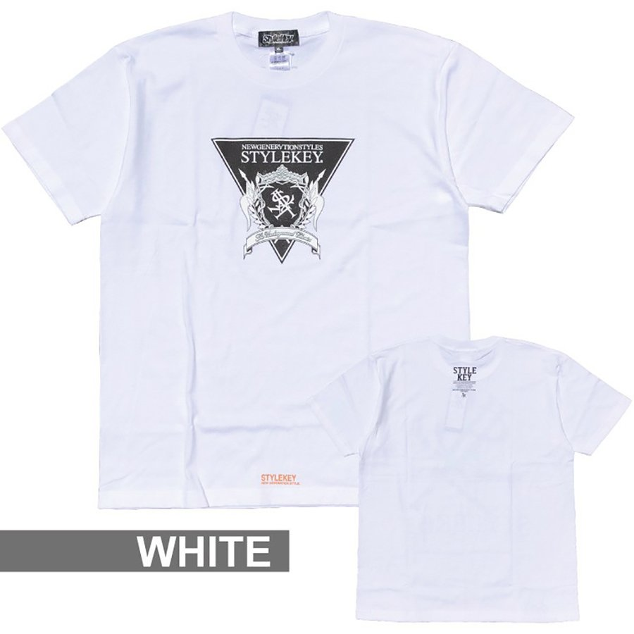 STYLEKEY(スタイルキー) 半袖Tシャツ TRIANGLE LOGO S/S TEE(SK21SU-SS04) ストリートファッション ヒップホップ レゲエ ダンス B系 定番ロゴ 大きいサイズ b-bros 05