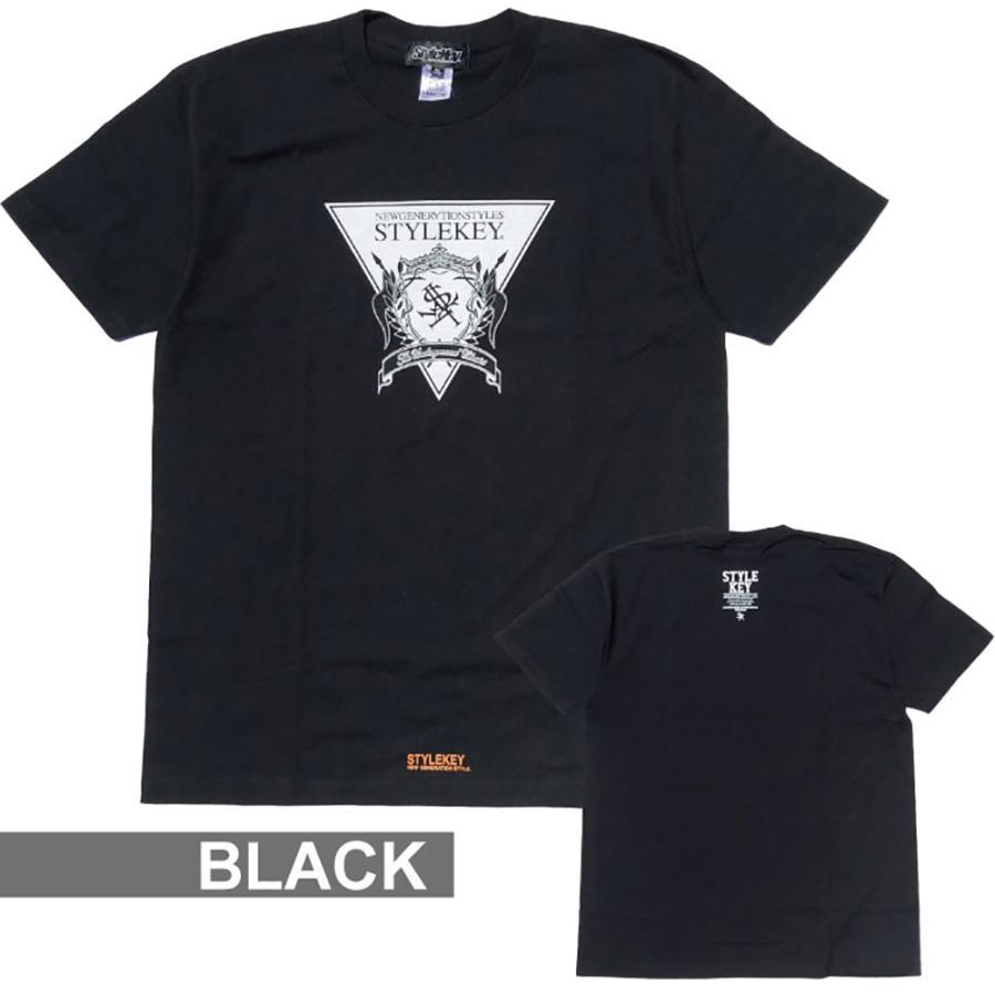 STYLEKEY(スタイルキー) 半袖Tシャツ TRIANGLE LOGO S/S TEE(SK21SU-SS04) ストリートファッション ヒップホップ レゲエ ダンス B系 定番ロゴ 大きいサイズ b-bros 06