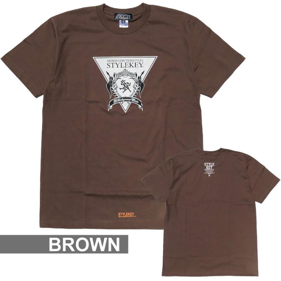 STYLEKEY(スタイルキー) 半袖Tシャツ TRIANGLE LOGO S/S TEE(SK21SU-SS04) ストリートファッション ヒップホップ レゲエ ダンス B系 定番ロゴ 大きいサイズ b-bros 07