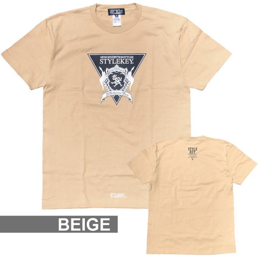 STYLEKEY(スタイルキー) 半袖Tシャツ TRIANGLE LOGO S/S TEE(SK21SU-SS04) ストリートファッション ヒップホップ レゲエ ダンス B系 定番ロゴ 大きいサイズ b-bros 08