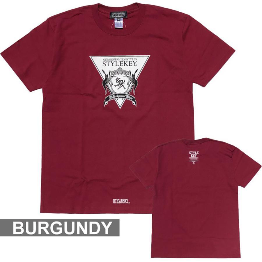 STYLEKEY(スタイルキー) 半袖Tシャツ TRIANGLE LOGO S/S TEE(SK21SU-SS04) ストリートファッション ヒップホップ レゲエ ダンス B系 定番ロゴ 大きいサイズ b-bros 09