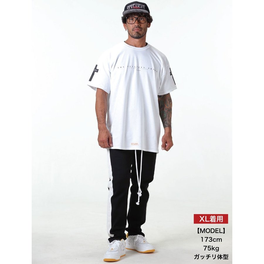 STYLEKEY スタイルキー 半袖Tシャツ CROSS BORN S/S TEE(SK19SU-SS17) ストリート系 B系 大きいサイズ|b-bros|02