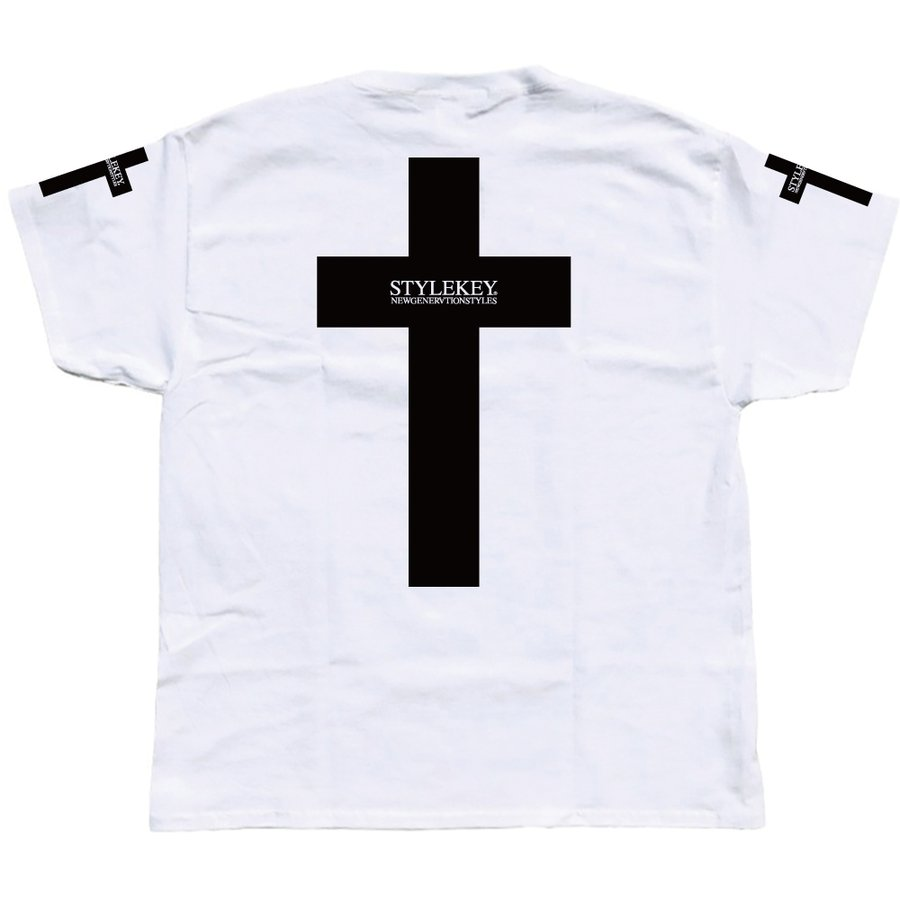 STYLEKEY スタイルキー 半袖Tシャツ CROSS BORN S/S TEE(SK19SU-SS17) ストリート系 B系 大きいサイズ|b-bros|04