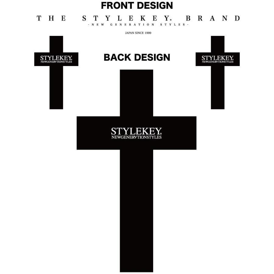 STYLEKEY スタイルキー 半袖Tシャツ CROSS BORN S/S TEE(SK19SU-SS17) ストリート系 B系 大きいサイズ|b-bros|07