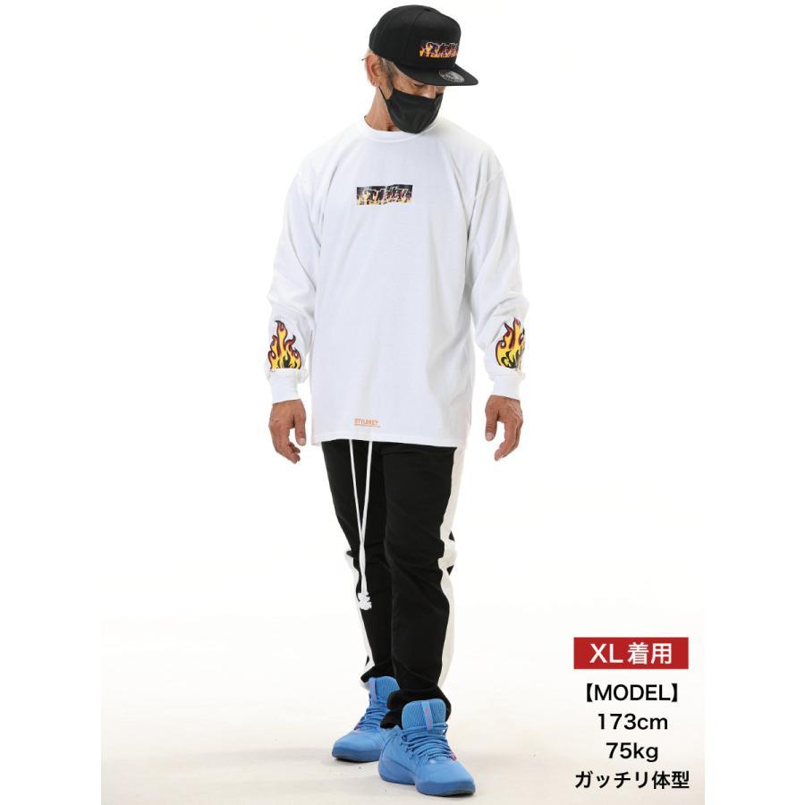 STYLEKEY(スタイルキー) 長袖Tシャツ FIRE BOX L/S TEE(SK21FW-LS05) ロングスリーブTシャツ ストリート ヒップホップ レゲエ B系 ボックス ロゴ 大きいサイズ|b-bros|02