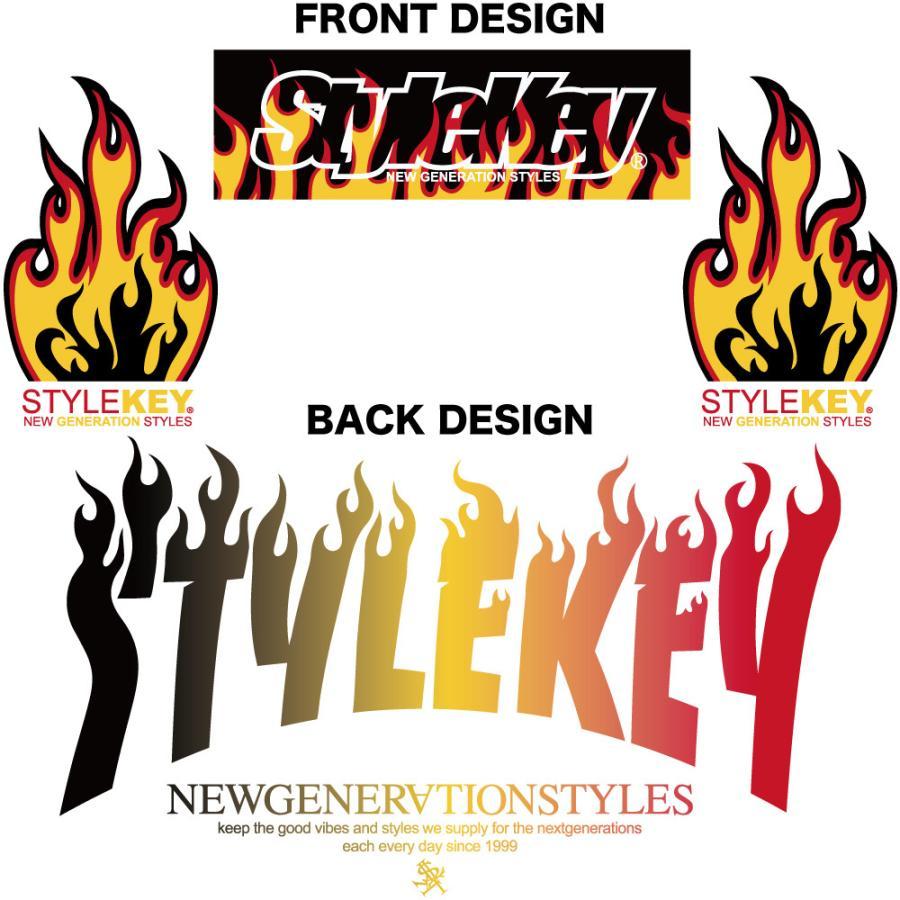 STYLEKEY(スタイルキー) 長袖Tシャツ FIRE BOX L/S TEE(SK21FW-LS05) ロングスリーブTシャツ ストリート ヒップホップ レゲエ B系 ボックス ロゴ 大きいサイズ|b-bros|07