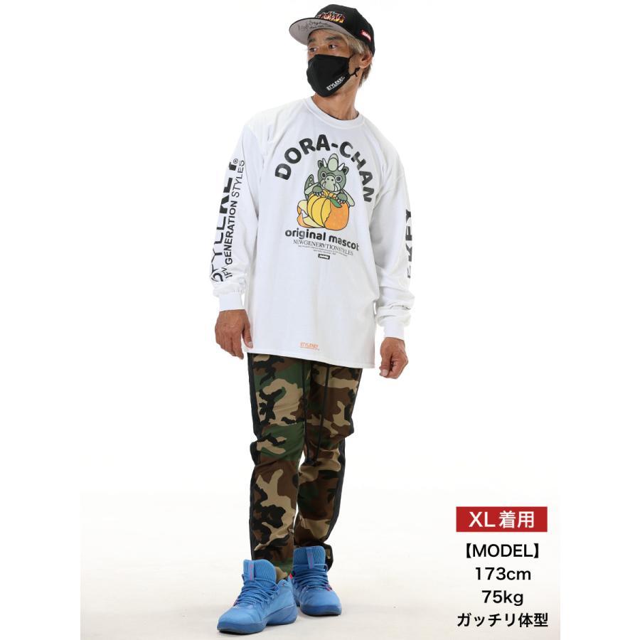STYLEKEY(スタイルキー) 長袖Tシャツ DORA-CHAN×MIKAN L/S TEE(SK21FW-LS06) ロンT ストリート ヒップホップ レゲエ B系 ドラちゃん ロゴ 大きいサイズ|b-bros|02