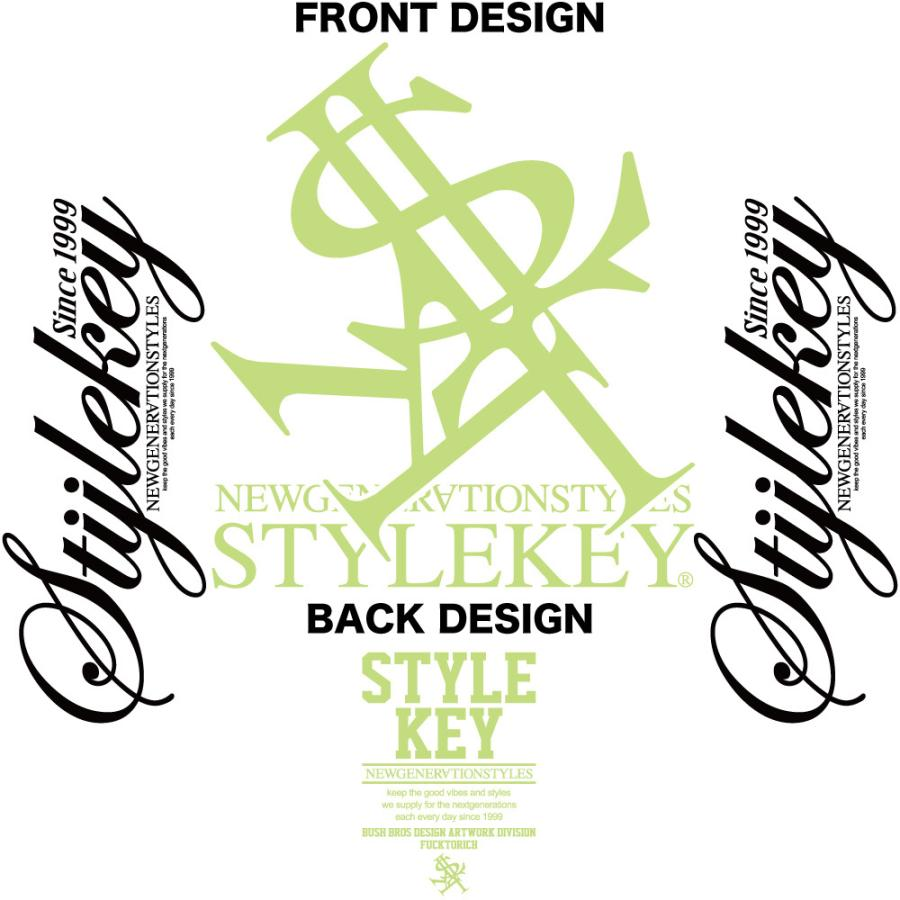 STYLEKEY(スタイルキー) 長袖Tシャツ NEON ROYAL L/S TEE(SK21FW-LS07) ロングスリーブTシャツ ストリート ヒップホップ レゲエ B系 ロイヤル ロゴ 大きいサイズ|b-bros|11