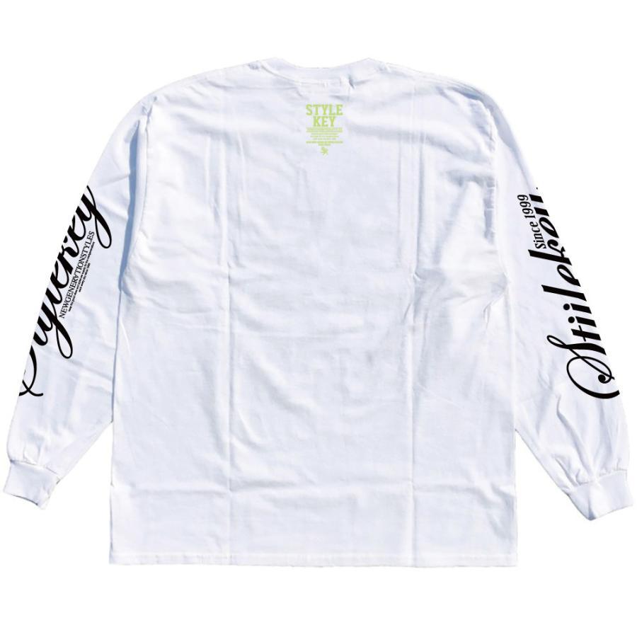 STYLEKEY(スタイルキー) 長袖Tシャツ NEON ROYAL L/S TEE(SK21FW-LS07) ロングスリーブTシャツ ストリート ヒップホップ レゲエ B系 ロイヤル ロゴ 大きいサイズ|b-bros|04
