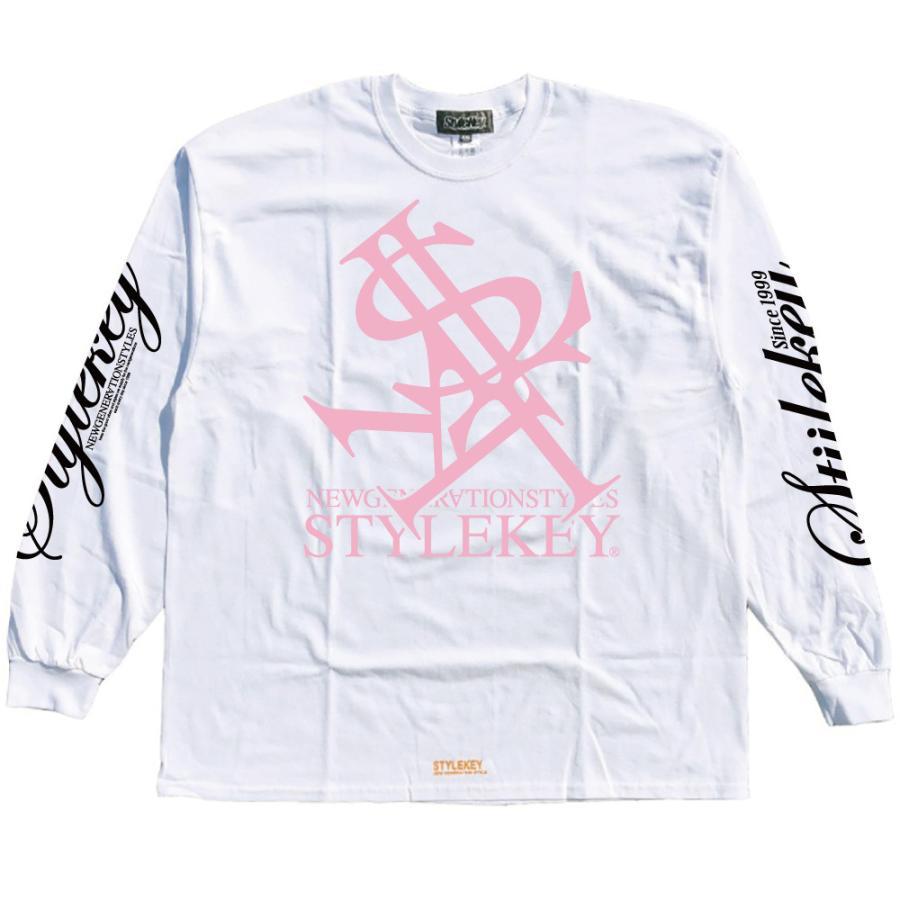 STYLEKEY(スタイルキー) 長袖Tシャツ NEON ROYAL L/S TEE(SK21FW-LS07) ロングスリーブTシャツ ストリート ヒップホップ レゲエ B系 ロイヤル ロゴ 大きいサイズ|b-bros|05