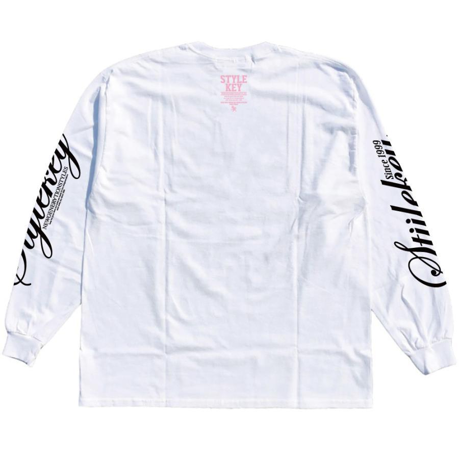 STYLEKEY(スタイルキー) 長袖Tシャツ NEON ROYAL L/S TEE(SK21FW-LS07) ロングスリーブTシャツ ストリート ヒップホップ レゲエ B系 ロイヤル ロゴ 大きいサイズ|b-bros|06