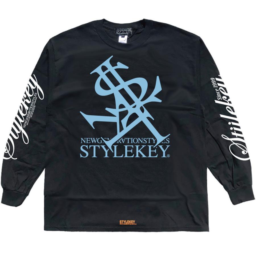 STYLEKEY(スタイルキー) 長袖Tシャツ NEON ROYAL L/S TEE(SK21FW-LS07) ロングスリーブTシャツ ストリート ヒップホップ レゲエ B系 ロイヤル ロゴ 大きいサイズ|b-bros|07