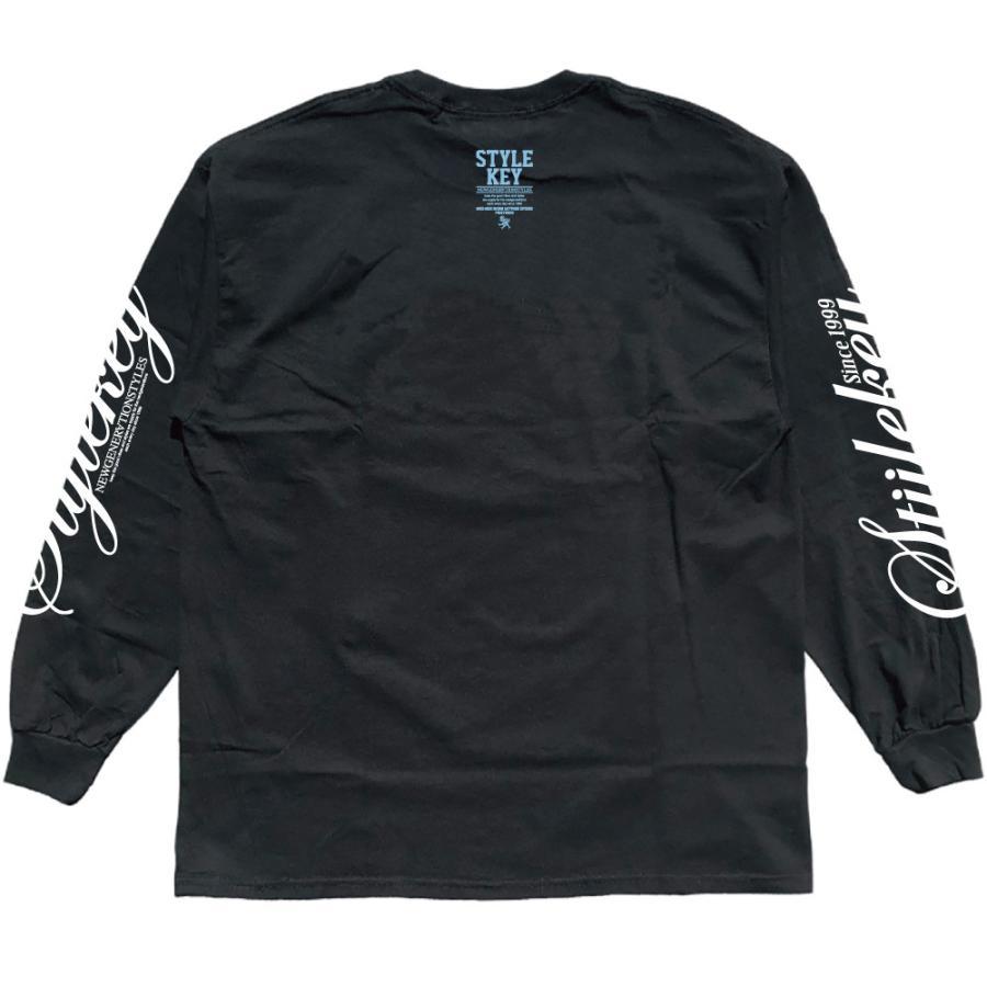 STYLEKEY(スタイルキー) 長袖Tシャツ NEON ROYAL L/S TEE(SK21FW-LS07) ロングスリーブTシャツ ストリート ヒップホップ レゲエ B系 ロイヤル ロゴ 大きいサイズ|b-bros|08