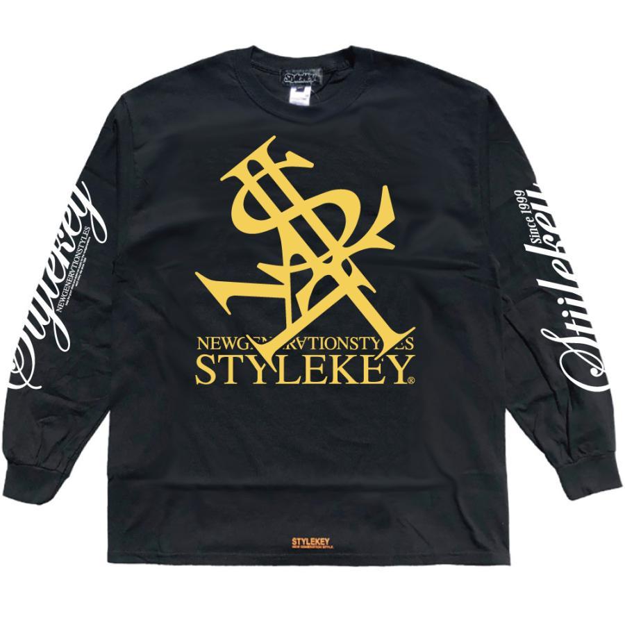 STYLEKEY(スタイルキー) 長袖Tシャツ NEON ROYAL L/S TEE(SK21FW-LS07) ロングスリーブTシャツ ストリート ヒップホップ レゲエ B系 ロイヤル ロゴ 大きいサイズ|b-bros|09