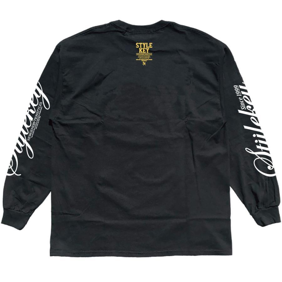 STYLEKEY(スタイルキー) 長袖Tシャツ NEON ROYAL L/S TEE(SK21FW-LS07) ロングスリーブTシャツ ストリート ヒップホップ レゲエ B系 ロイヤル ロゴ 大きいサイズ|b-bros|10