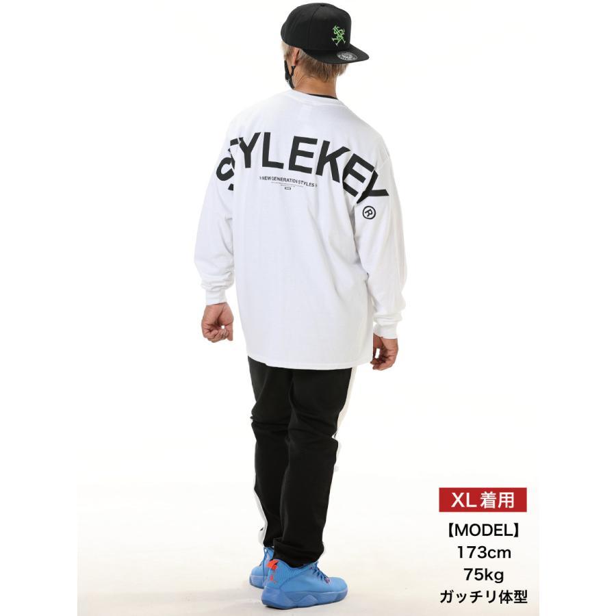 STYLEKEY(スタイルキー) 長袖Tシャツ SCALE L/S TEE(SK21FW-LS09) ロングスリーブTシャツ ストリート ヒップホップ レゲエ B系 バンド ビッグ ロゴ 大きいサイズ|b-bros|02
