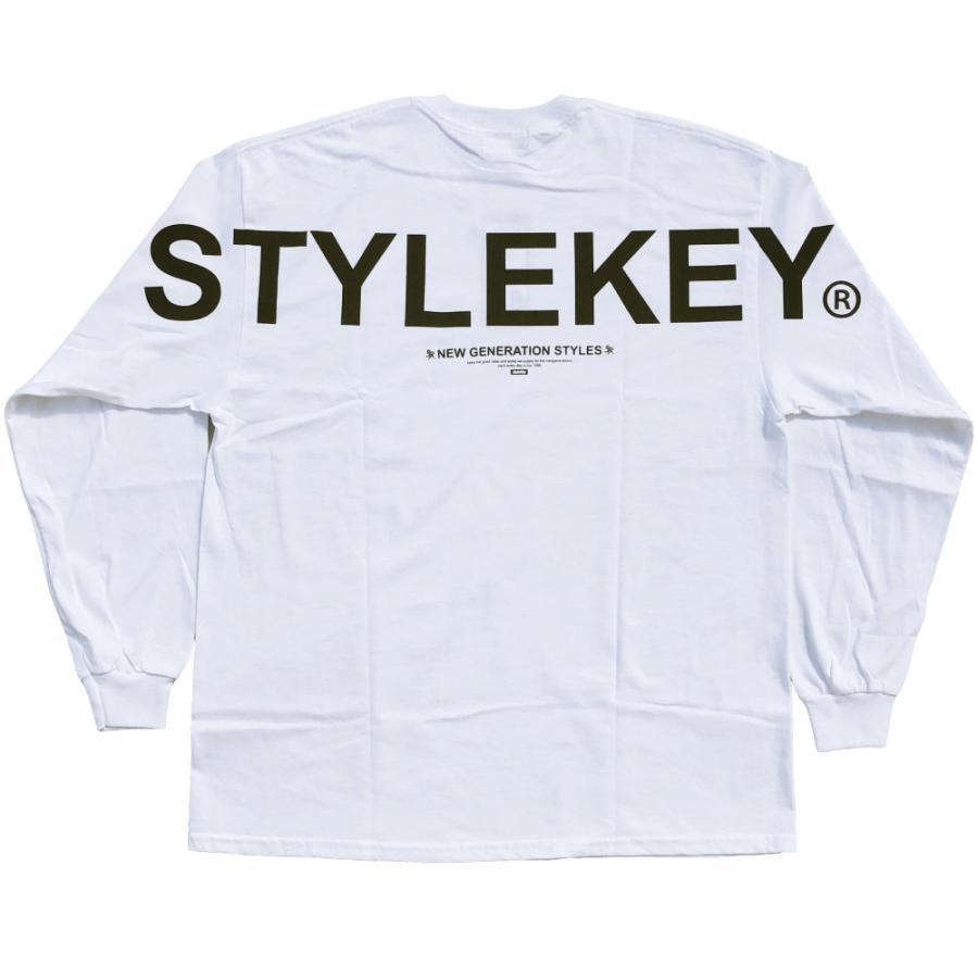 STYLEKEY(スタイルキー) 長袖Tシャツ SCALE L/S TEE(SK21FW-LS09) ロングスリーブTシャツ ストリート ヒップホップ レゲエ B系 バンド ビッグ ロゴ 大きいサイズ|b-bros|04