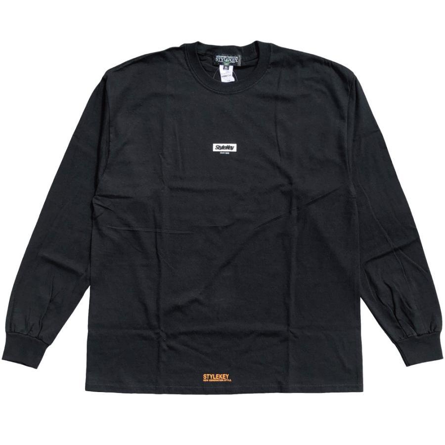 STYLEKEY(スタイルキー) 長袖Tシャツ SCALE L/S TEE(SK21FW-LS09) ロングスリーブTシャツ ストリート ヒップホップ レゲエ B系 バンド ビッグ ロゴ 大きいサイズ|b-bros|05