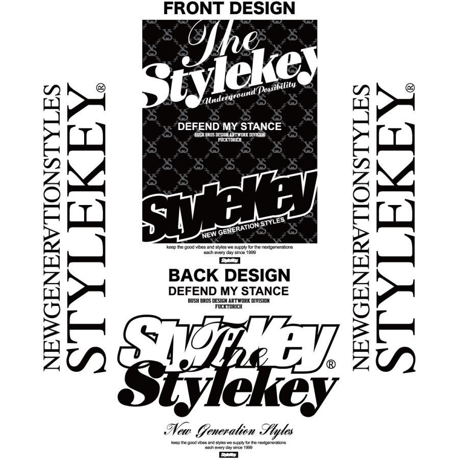 STYLEKEY(スタイルキー) 長袖Tシャツ IRON PLATE L/S TEE(SK21FW-LS10) ロングスリーブTシャツ ストリート ヒップホップ レゲエ B系 ボックス ロゴ 大きいサイズ b-bros 07