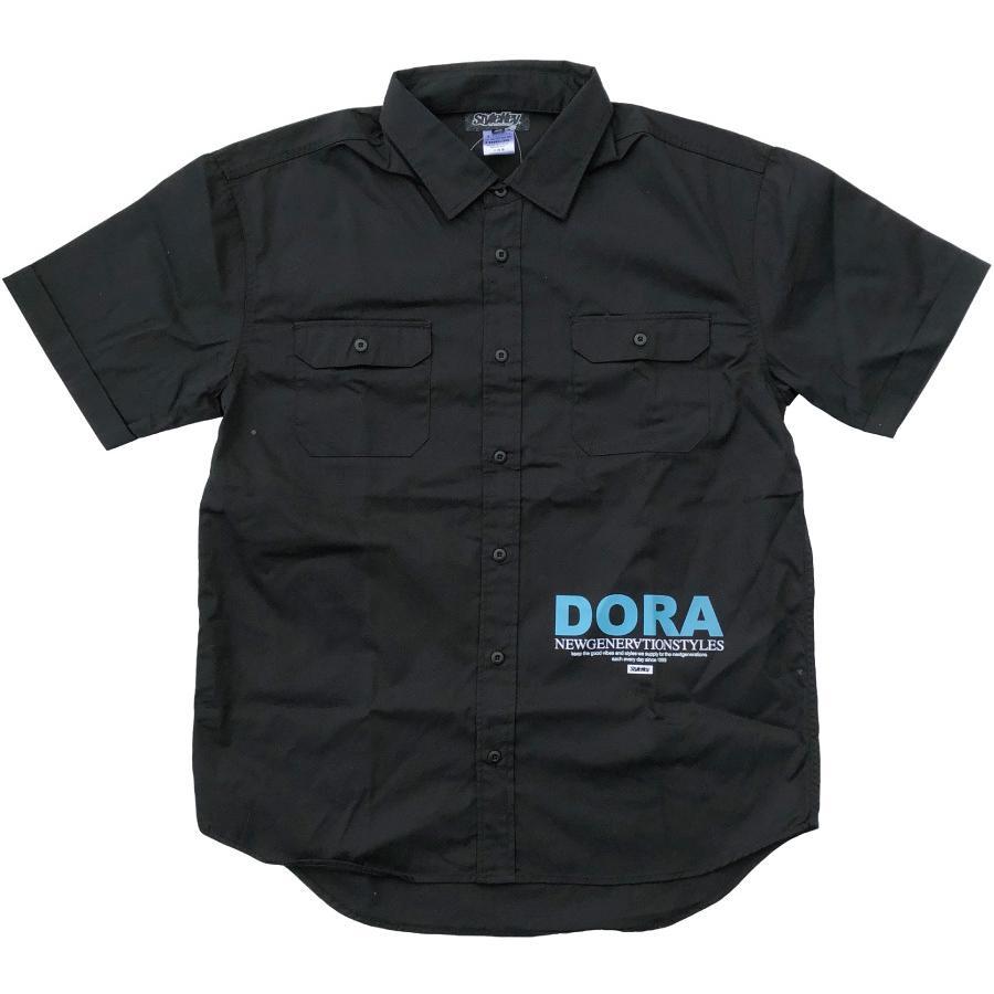 STYLEKEY スタイルキー 半袖ワークシャツ LOOK IN S/S WORK SHIRT(SK21SP-BL02) ストリート ヒップホップ レゲエ B系 キャラクター ブラウス 大きいサイズ b-bros 03