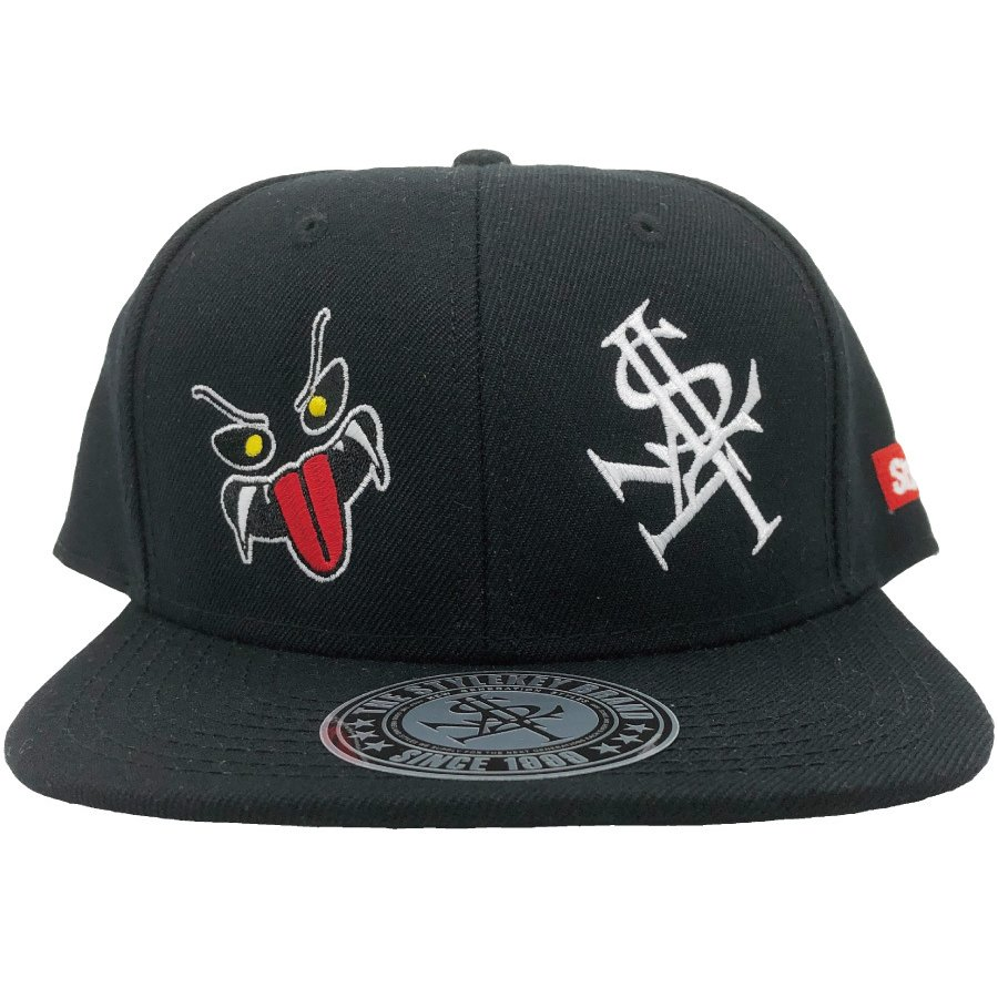 STYLEKEY(スタイルキー) スナップバックキャップ MONSTER HOUSE SNAPBACK CAP(SK21SP-CP02) ストリート ヒップホップ レゲエ バンド B系 帽子 ロゴ ブラック 黒|b-bros|02