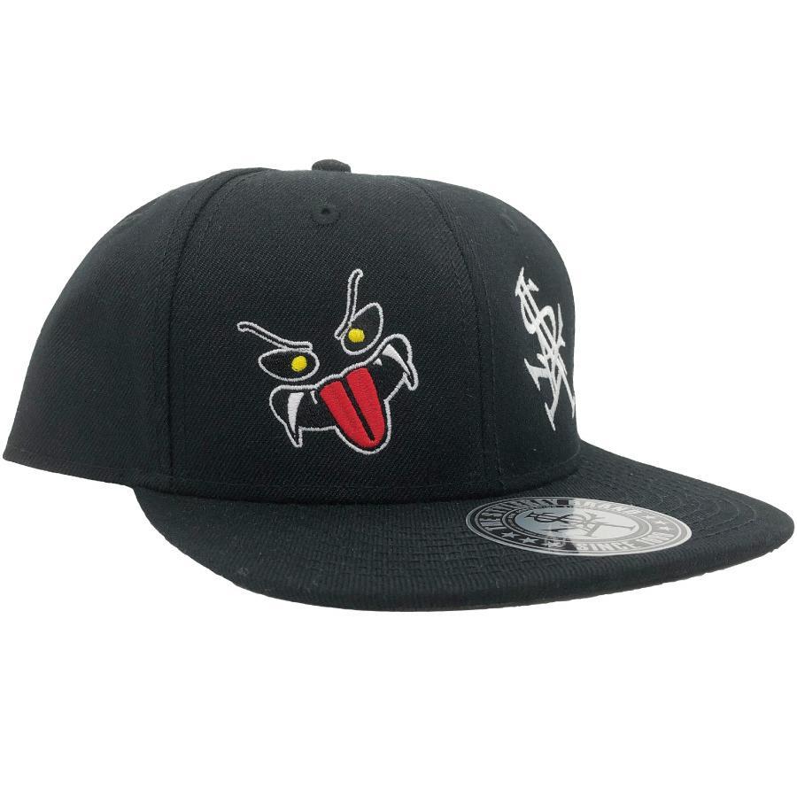 STYLEKEY(スタイルキー) スナップバックキャップ MONSTER HOUSE SNAPBACK CAP(SK21SP-CP02) ストリート ヒップホップ レゲエ バンド B系 帽子 ロゴ ブラック 黒|b-bros|04
