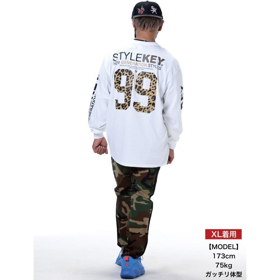 STYLEKEY(スタイルキー) 長袖Tシャツ SYMBOL OF POWER L/S TEE(SK21SP-LS05) ロングスリーブTシャツ ストリート ヒップホップ レゲエ B系 ロゴ 大きいサイズ|b-bros|02