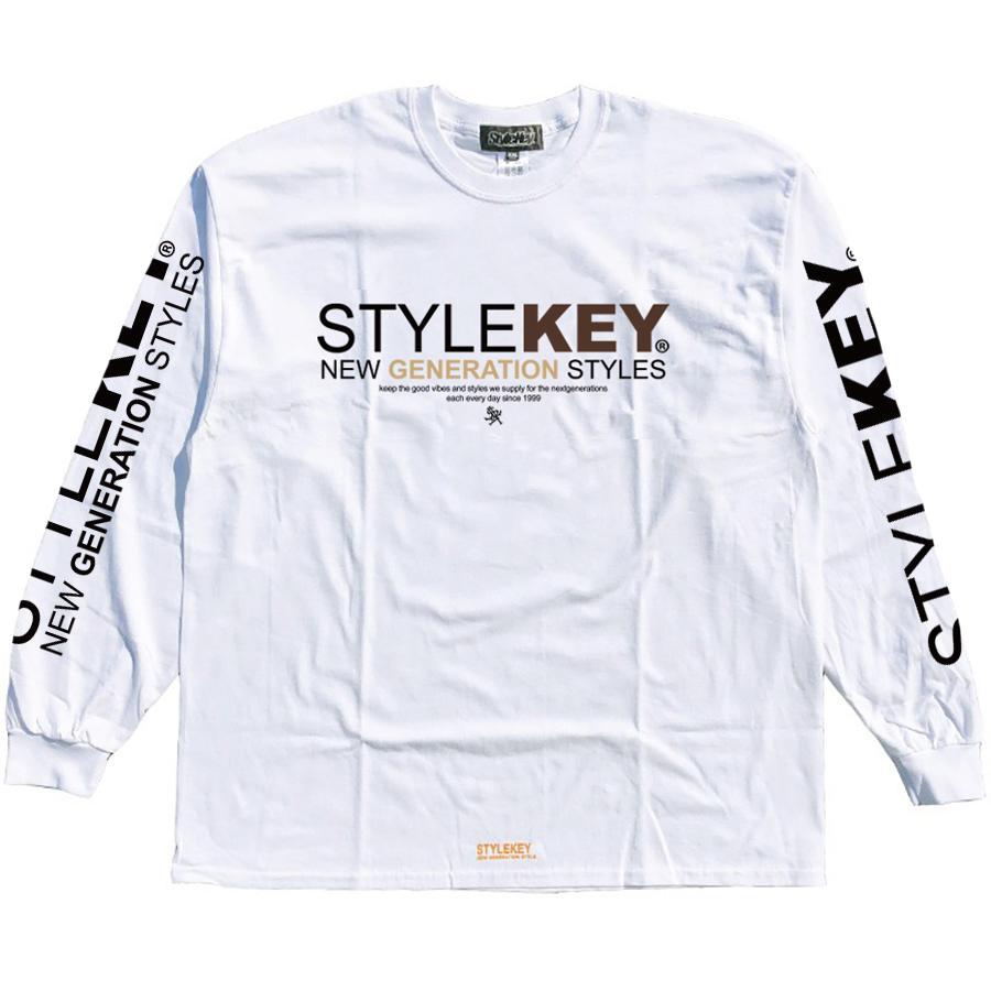 STYLEKEY(スタイルキー) 長袖Tシャツ SYMBOL OF POWER L/S TEE(SK21SP-LS05) ロングスリーブTシャツ ストリート ヒップホップ レゲエ B系 ロゴ 大きいサイズ|b-bros|03